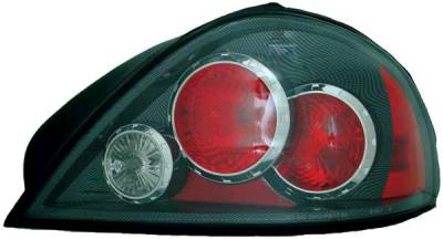 TYC - TYC Euro Taillights with Carbon Fiber Housing - 81582330