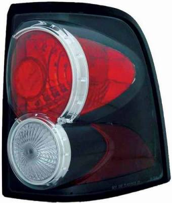 TYC - TYC Euro Taillights with Black Housing - 81584141