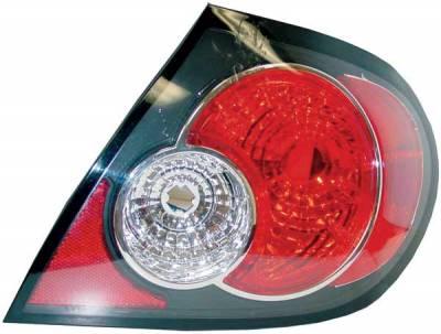 TYC - TYC Euro Taillights with Black Housing - 81586741