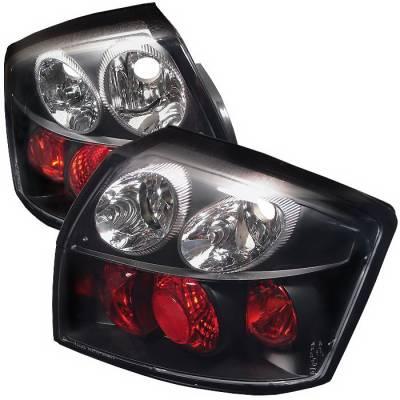 Spyder Auto - Audi A4 Spyder Altezza Taillights - Black - 111-AA402-BK