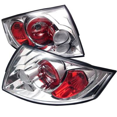 Spyder. - Audi TT Spyder Euro Style Taillights - Chrome - 111-ATT99-C