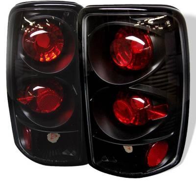 Spyder - GMC Yukon Spyder Euro Style Taillights - Black - 111-CD00-BK