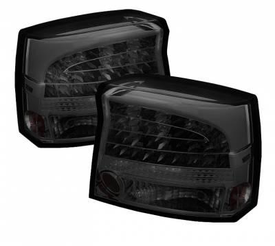 Spyder Auto - Dodge Charger Spyder LED Taillights - Smoke - 111-DCH09-LED-C