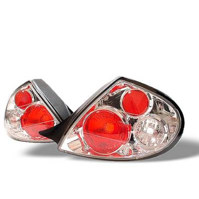 Spyder - Dodge Neon Spyder Euro Style Taillights - Chrome - 111-DN00-C
