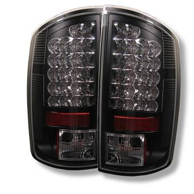 Spyder - Dodge Ram Spyder LED Taillights - Black - 111-DRAM02-LED-BK