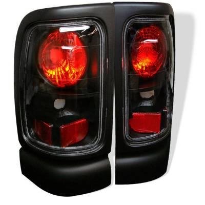 Spyder - Dodge Ram Spyder Euro Style Taillights - Black - 111-DRAM94-BK