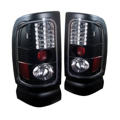 Spyder Auto - Dodge Ram Spyder LED Taillights - Black - 111-DRAM94-C