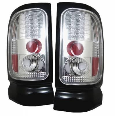 Spyder - Dodge Ram Spyder LED Taillights - Chrome - 111-DRAM94-LED-C