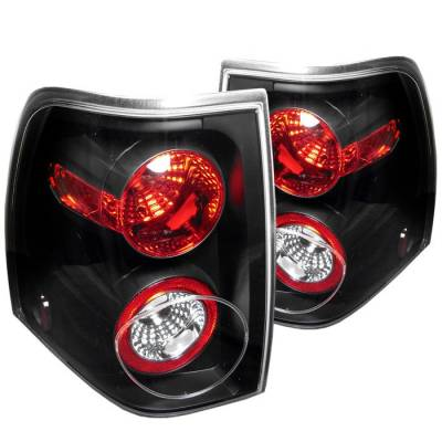 Spyder - Ford Expedition Spyder Euro Style Taillights - Black - 111-FE03-BK