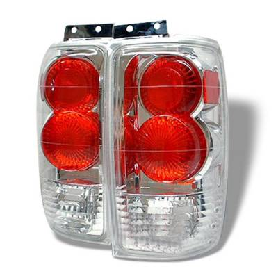 Spyder - Ford Expedition Spyder Euro Style Taillights - Chrome - 111-FE97-C
