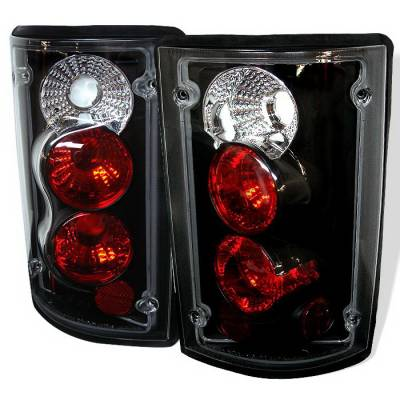 Spyder Auto - Ford Excursion Spyder Altezza Taillights - Black - 111-FE97-SM