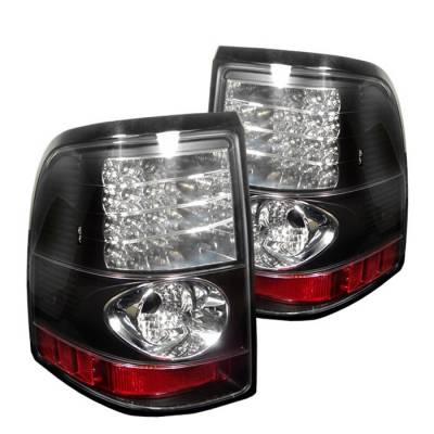 Spyder - Ford Explorer Spyder LED Taillights - Black - 111-FEXP02-LED-BK
