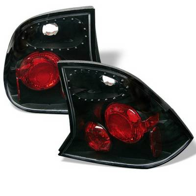 Spyder Auto - Ford Focus Spyder Altezza Taillights - Black - 111-FEXP98-C