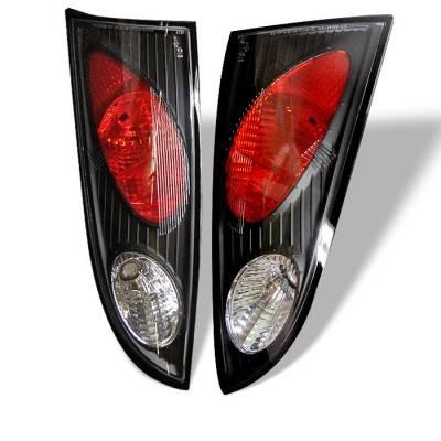 Spyder - Ford Focus Spyder Euro Style Taillights - Black - 111-FF00-5D-BK