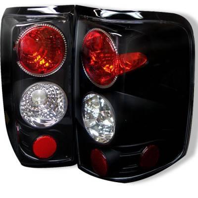 Spyder - Ford F150 Spyder Euro Style Taillights - Black - 111-FF15004-BK