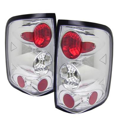 Spyder - Ford F150 Spyder Euro Style Taillights - Chrome - 111-FF15004-C