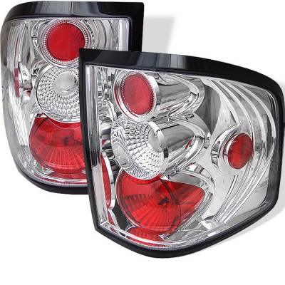 Spyder - Ford F150 Spyder Euro Style Taillights - Chrome - 111-FF15004FS-C