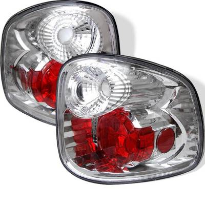Spyder - Ford F150 Spyder Euro Style Taillights - Chrome - 111-FF15097FS-C