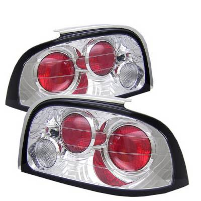 Spyder Auto - Ford Mustang Spyder Altezza Taillights - Chrome - 111-FM94-C