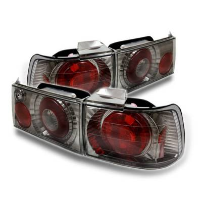 Spyder - Honda Accord 4DR Spyder Altezza Taillights - Black Chrome - 111-HA90-BC
