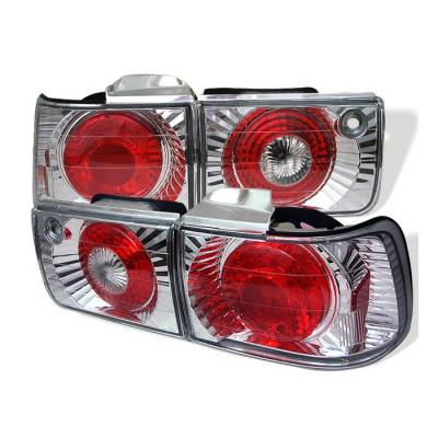 Spyder - Honda Accord 4DR Spyder Euro Style Taillights - Chrome - 111-HA92-4D-C