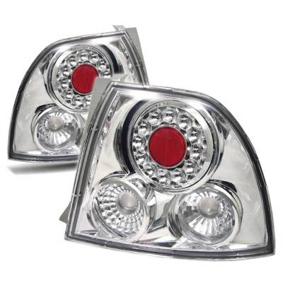 Spyder - Honda Accord Spyder LED Taillights - Chrome - 111-HA94-LED-C