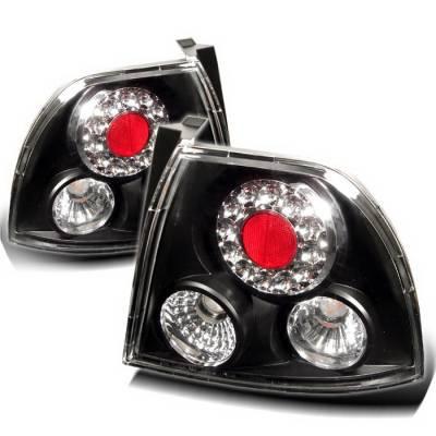 Spyder Auto - Honda Accord Spyder LED Taillights - Black - 111-HA94-LED-SM