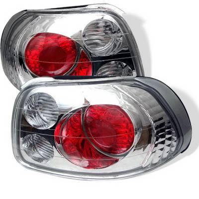 Spyder Auto - Honda Del Sol Spyder Altezza Taillights - Chrome - 111-HF09-LED-RC