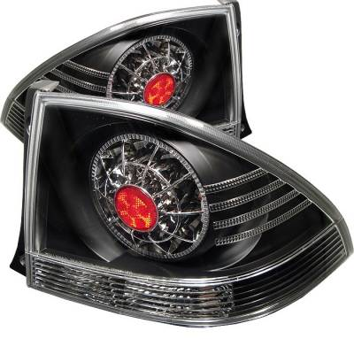 Spyder - Lexus IS Spyder LED Taillights - Black - 111-LIS300-LED-BK