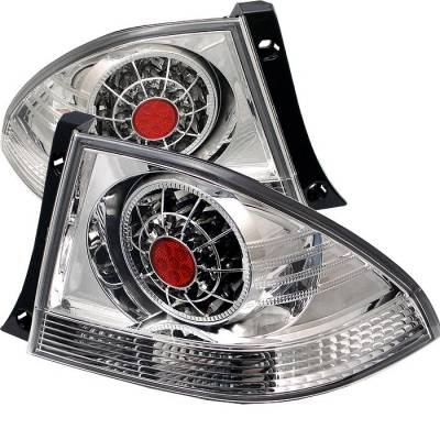 Spyder - Lexus IS Spyder LED Taillights - Chrome - 111-LIS300-LED-C