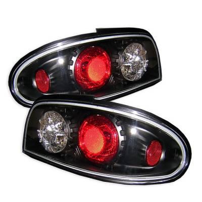 Spyder - Nissan Altima Spyder Euro Style Taillights - Black - 111-NA93-BK