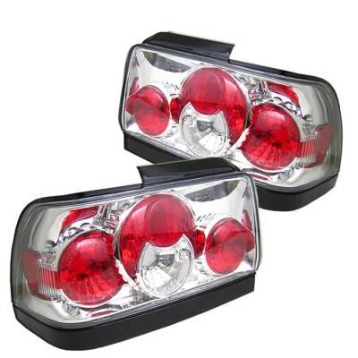 Spyder Auto - Toyota Corolla Spyder Altezza Taillights - Chrome - 111-TCEL00-SM