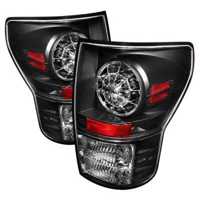 Spyder Auto - Toyota Tundra Spyder LED Taillights - Black - 111-VG03-LED-C