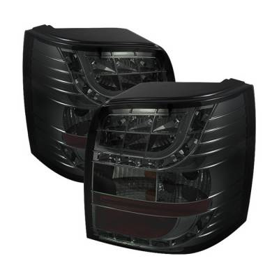 Spyder Auto - Volkswagen Passat Spyder LED Light Bar Taillights - Smoke - 444-AA499-HL-1P-BK