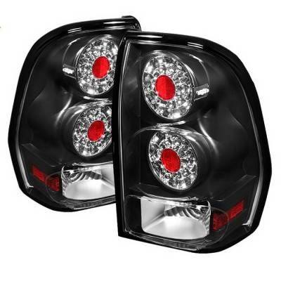 Spyder Auto - Chevrolet Trail Blazer Spyder LED Taillights - Black - ALT-ON-CTB02-LED-BK
