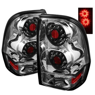 Spyder - Chevrolet Trail Blazer Spyder LED Taillights - Chrome - ALT-ON-CTB02-LED-C