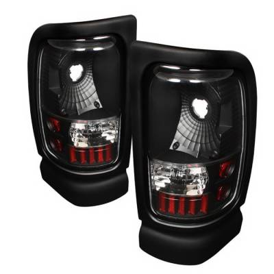 Spyder Auto - Dodge Ram Spyder Altezza Taillights - Black - ALT-ON-DRAM94-BK