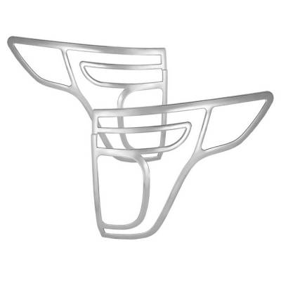 Spyder - Ford Explorer Spyder ABS Taillight Bezel - Chrome - CA-TB-FEXP11