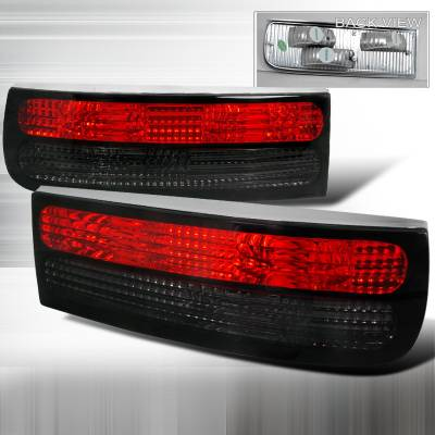 Spec-D - Nissan 300Z Spec-D Altezza Taillights - Red & Smoke - LT-300Z90RG-APC