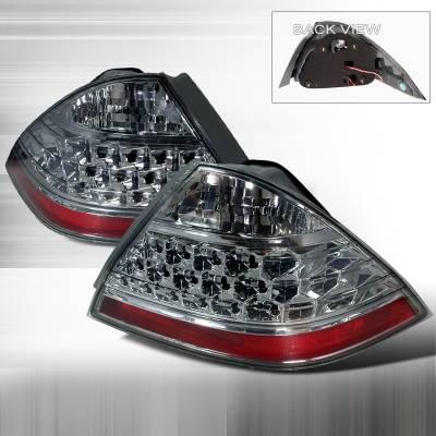 Spec-D - Honda Accord Spec-D Altezza Taillights - Smoke - LT-ACD064G-KS