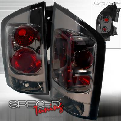 Spec-D - Nissan Armada Spec-D Altezza Taillights - Smoke - LT-AMD04G-TM