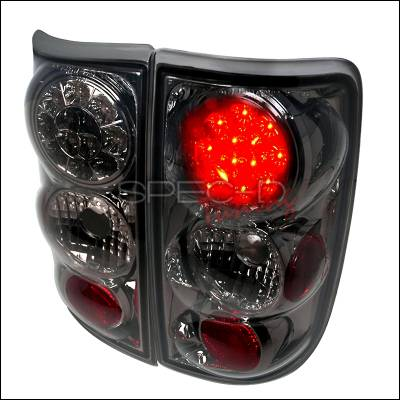 Spec-D - Chevrolet Blazer Spec-D LED Taillights - Smoke - LT-BLZ95GLED-TM