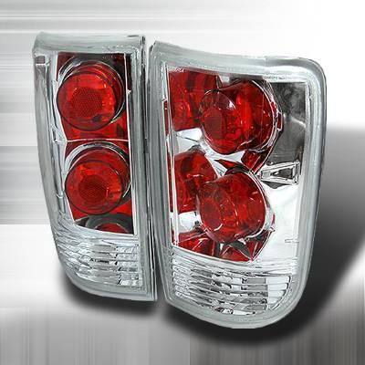 Spec-D - Chevrolet Blazer Spec-D Altezza Taillights - Chrome - LT-BLZ95-KS