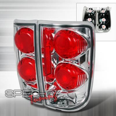 Spec-D - Chevrolet Blazer Spec-D Altezza Taillights - Chrome - LT-BLZ95-TM