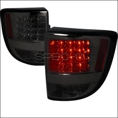 Spec-D - Toyota Celica Spec-D LED Taillights - Smoked Lens - LT-CEL00GLED-TM