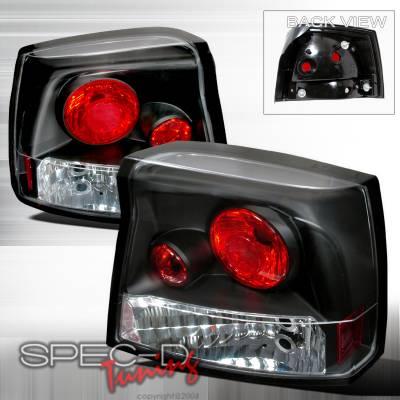 Spec-D - Dodge Charger Spec-D Altezza Taillights - Black - LT-CHG05JM-TM