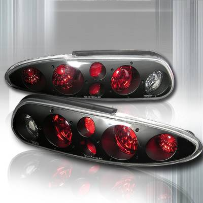Spec-D - Chevrolet Camaro Spec-D Altezza Taillights - Black - LT-CMR93JM-KS