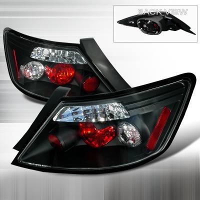 Spec-D - Honda Civic Spec-D Altezza Taillights - Black - LT-CV062JM-TM