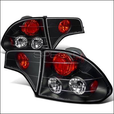 Spec-D - Honda Civic Spec-D Altezza Taillights - Black - LT-CV064JM-TM