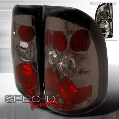 Spec-D - Dodge Dakota Spec-D Altezza Taillights - Smoke - LT-DAK97G-TM